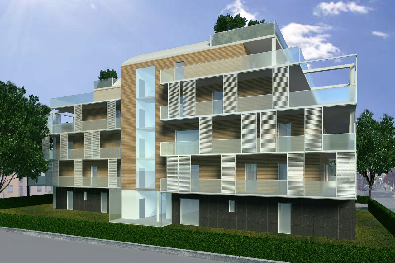 Le terrazze bergamo for Edificio di 10000 piedi quadrati