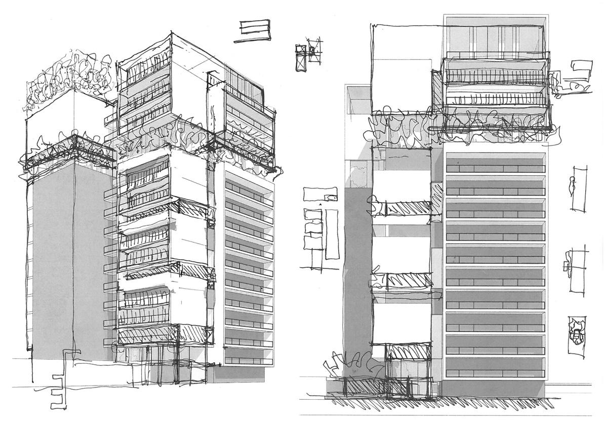 Project housing contest for Progettazione di edifici residenziali